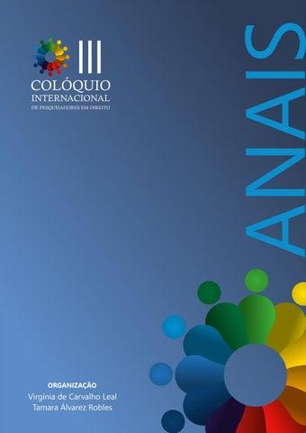 Anais do III Colóquio Internacional de Pesquisadores em Direito by ... d380a86cd9891