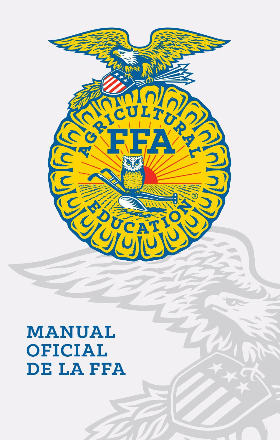 Manual oficial de la ffa 2017 final by National FFA Organization - issuu