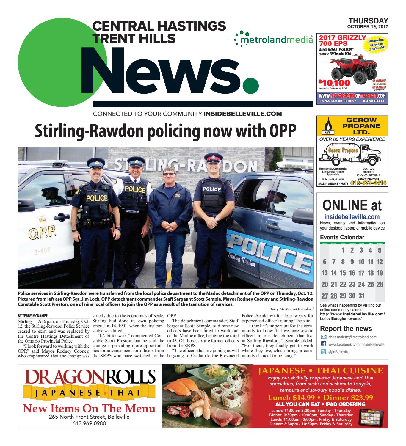 Chth101917 by Metroland East - Trent Hills Independent - issuu