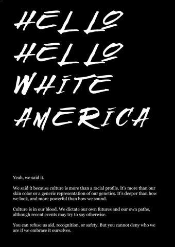 hello hello white america