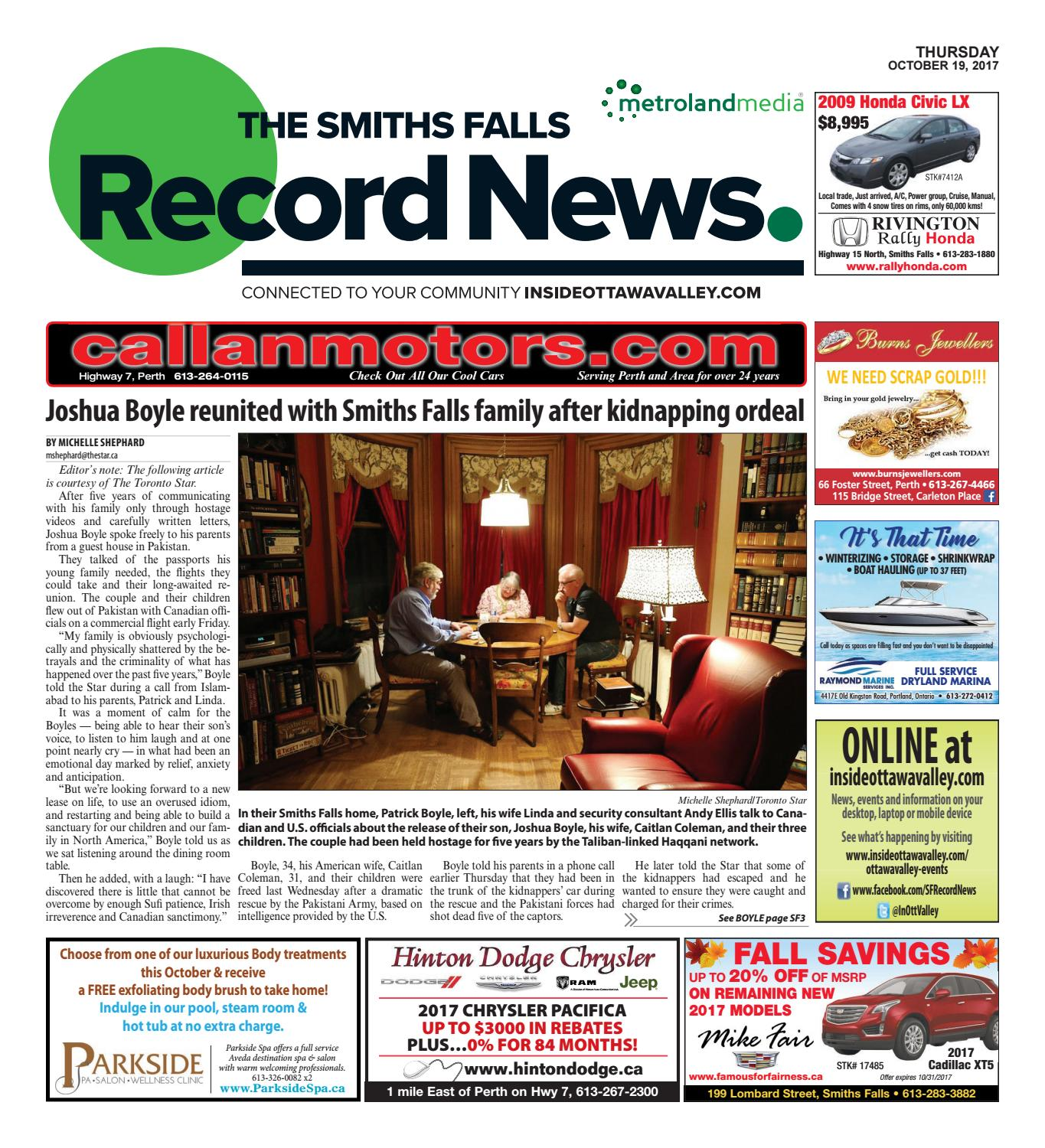 Smithsfalls101917 by Metroland East - Smiths Falls Record