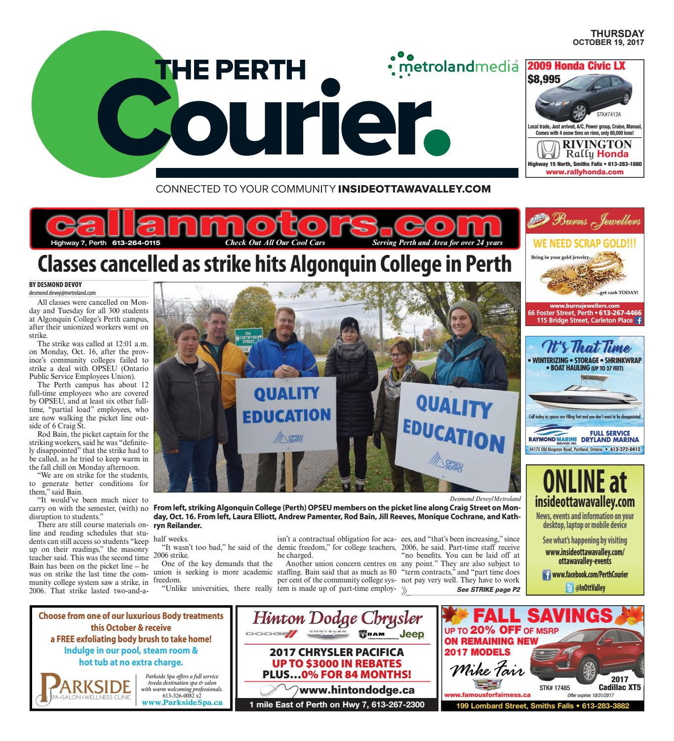 Perth101917 by metroland east the perth courier issuu fandeluxe Images