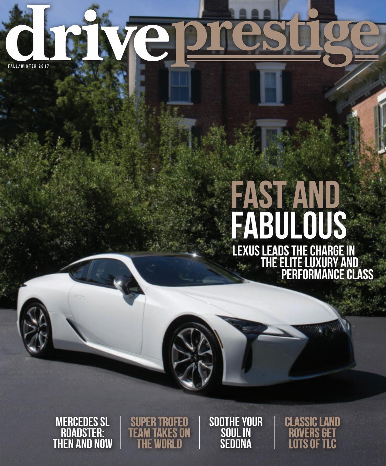 Drive Prestige: Fall/Winter 2017 By Wainscot Media