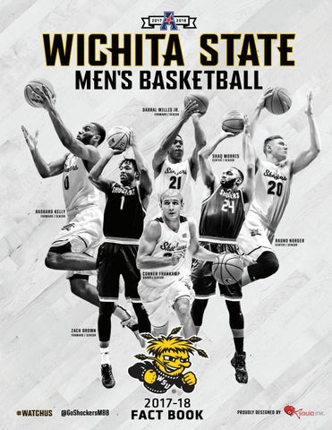 2017-18 Wichita State Men s Basketball Fact Book by Wichita State ... 2179a1146