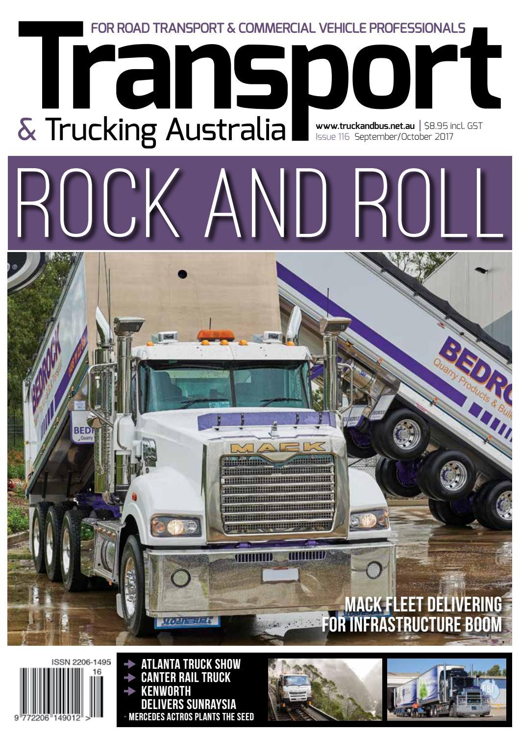 5220b78cb2 Transport   Trucking Australia issue 116 web magazine by Transport  Publishing Australia - issuu