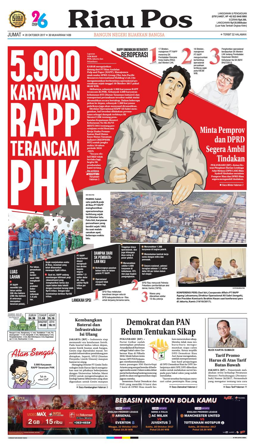 2017 10 20 By Riau Pos Issuu Produk Ukm Bumn Bahan Songket Sulam Katun Merah