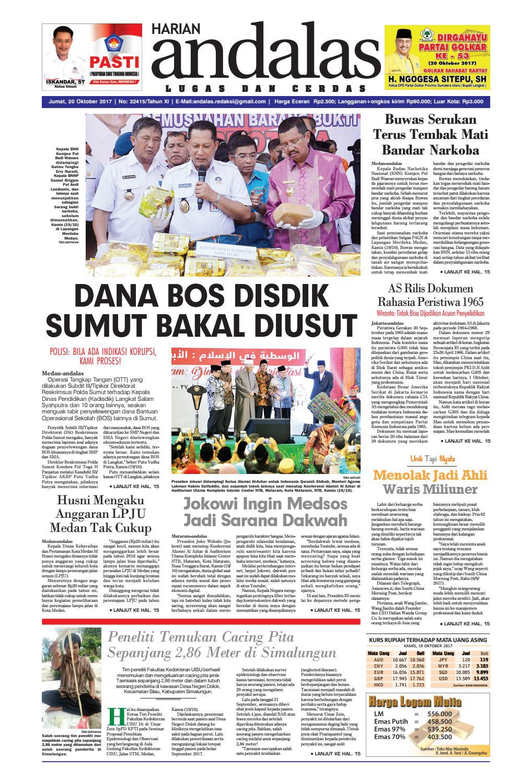 Epaper Andalas Edisi Jumat 20 Oktober 2017 By Media Issuu Fcenter Meja Belajar Sd Hk 9004 Sh Jawa Tengah