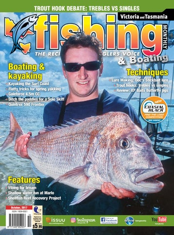 ac353144d24 Vic Tas Fishing Monthly October 2017 by Fishing Monthly - issuu