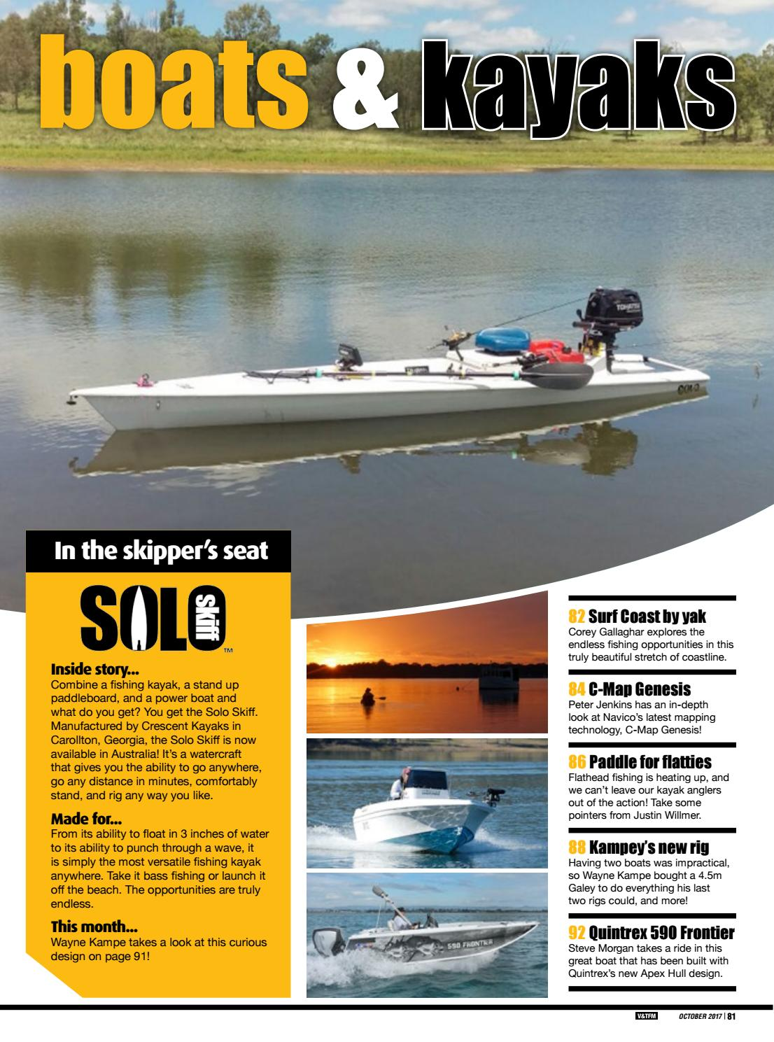 Vic/Tas Fishing Monthly October 2017 by Fishing Monthly - issuu