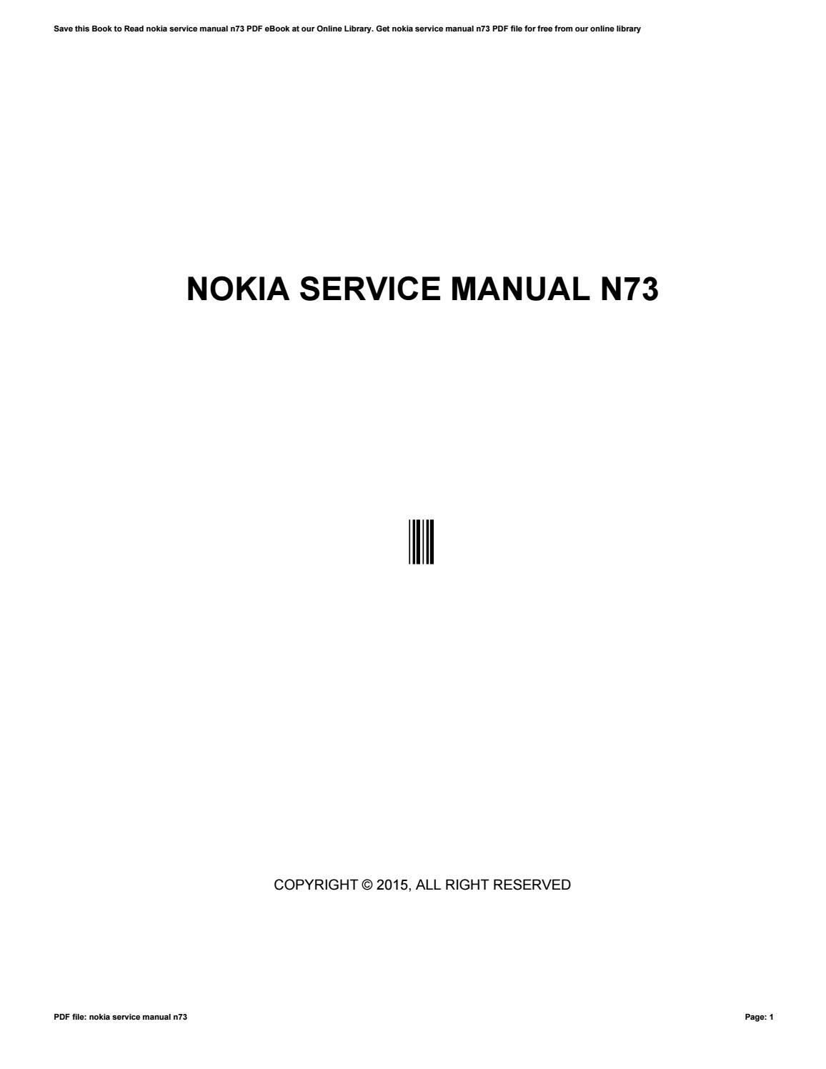 n73 manual