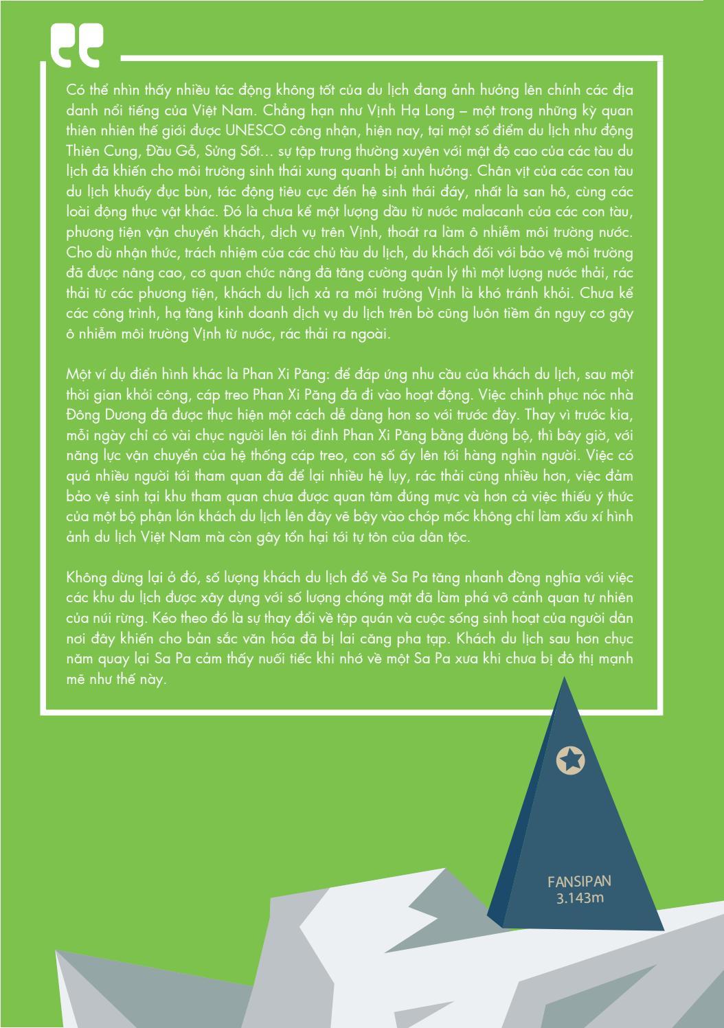 [Tài liệu LSST] Du lịch có trách nhiệm page 15