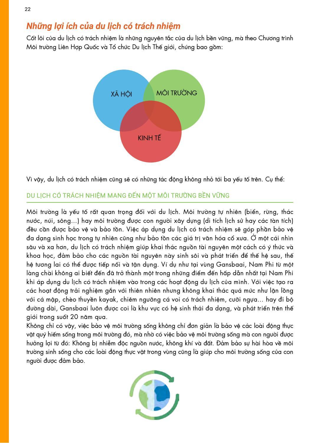 [Tài liệu LSST] Du lịch có trách nhiệm page 22