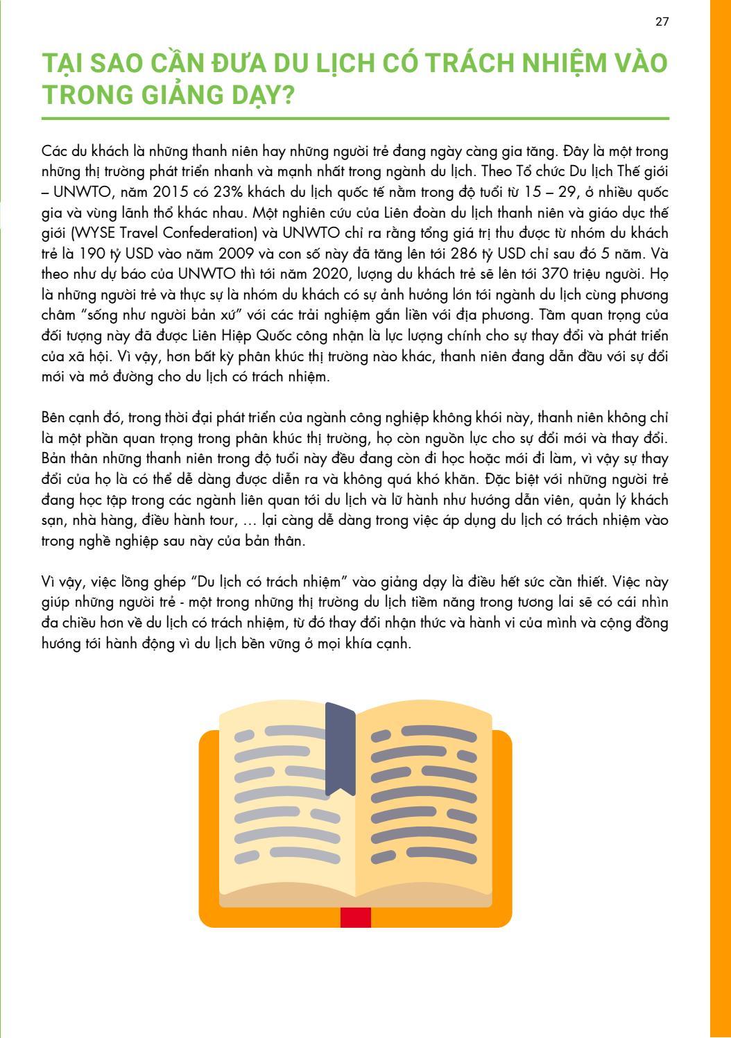 [Tài liệu LSST] Du lịch có trách nhiệm page 27
