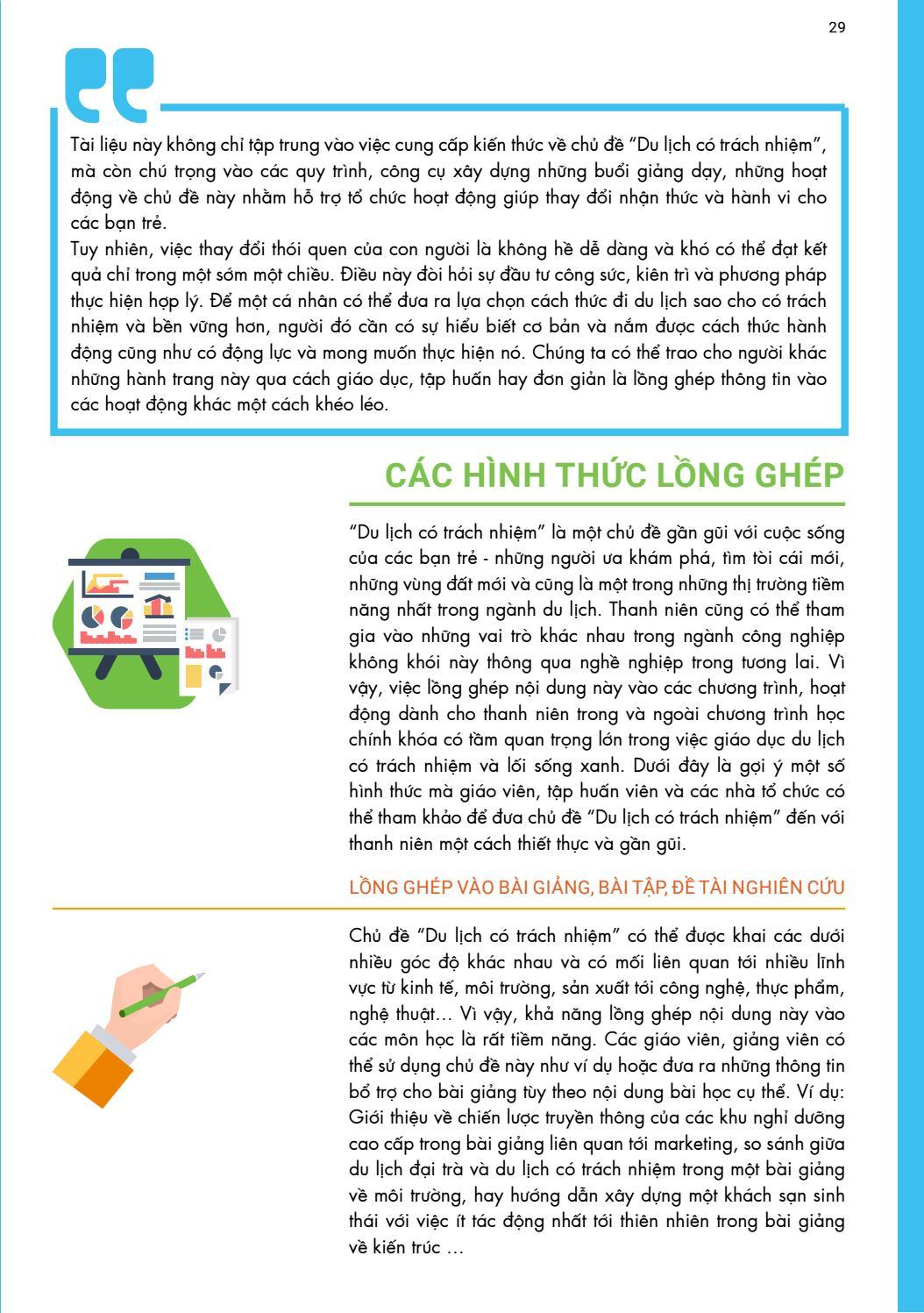 [Tài liệu LSST] Du lịch có trách nhiệm page 29