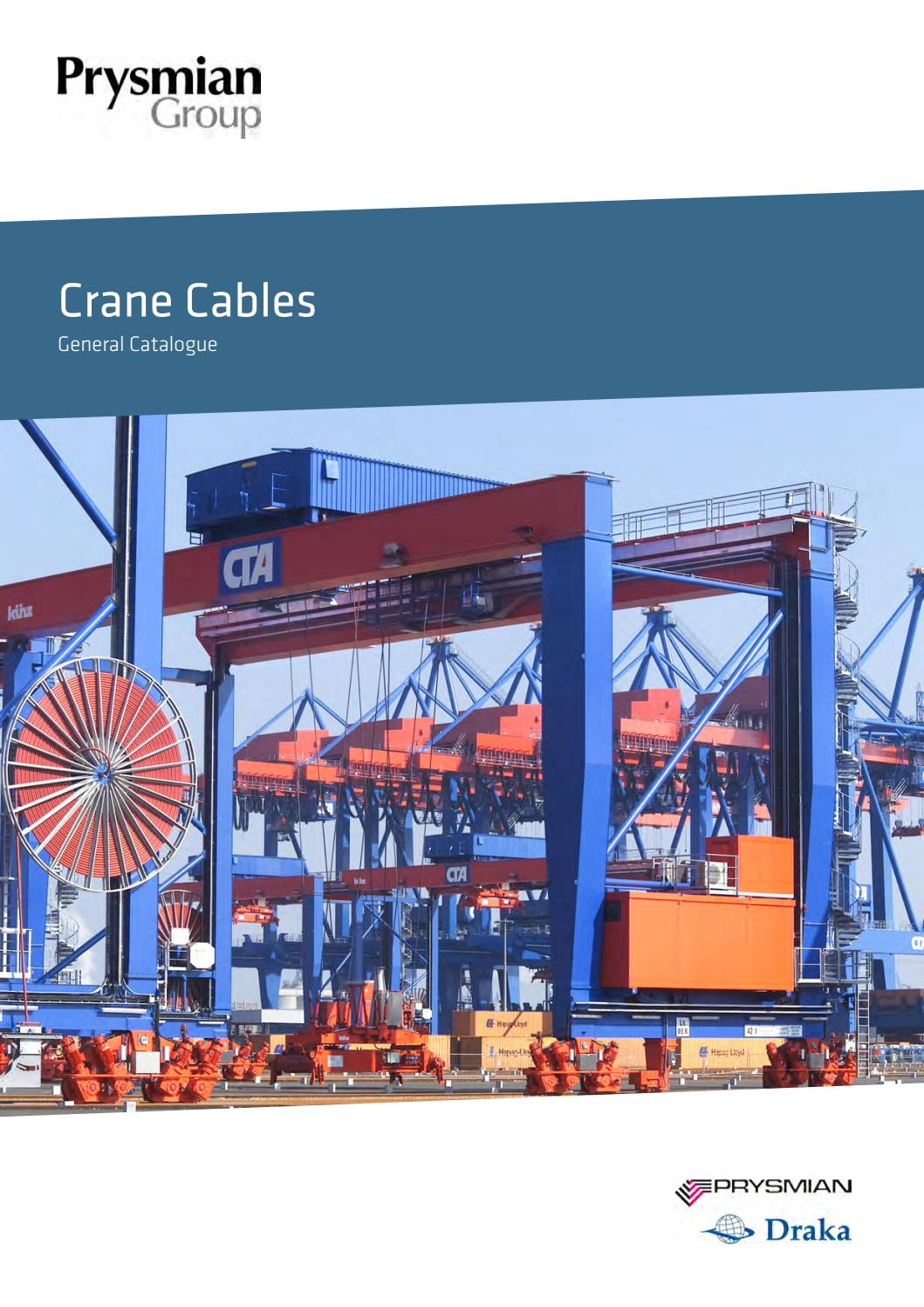 Crane Cables by Prysmian CEE - issuu on
