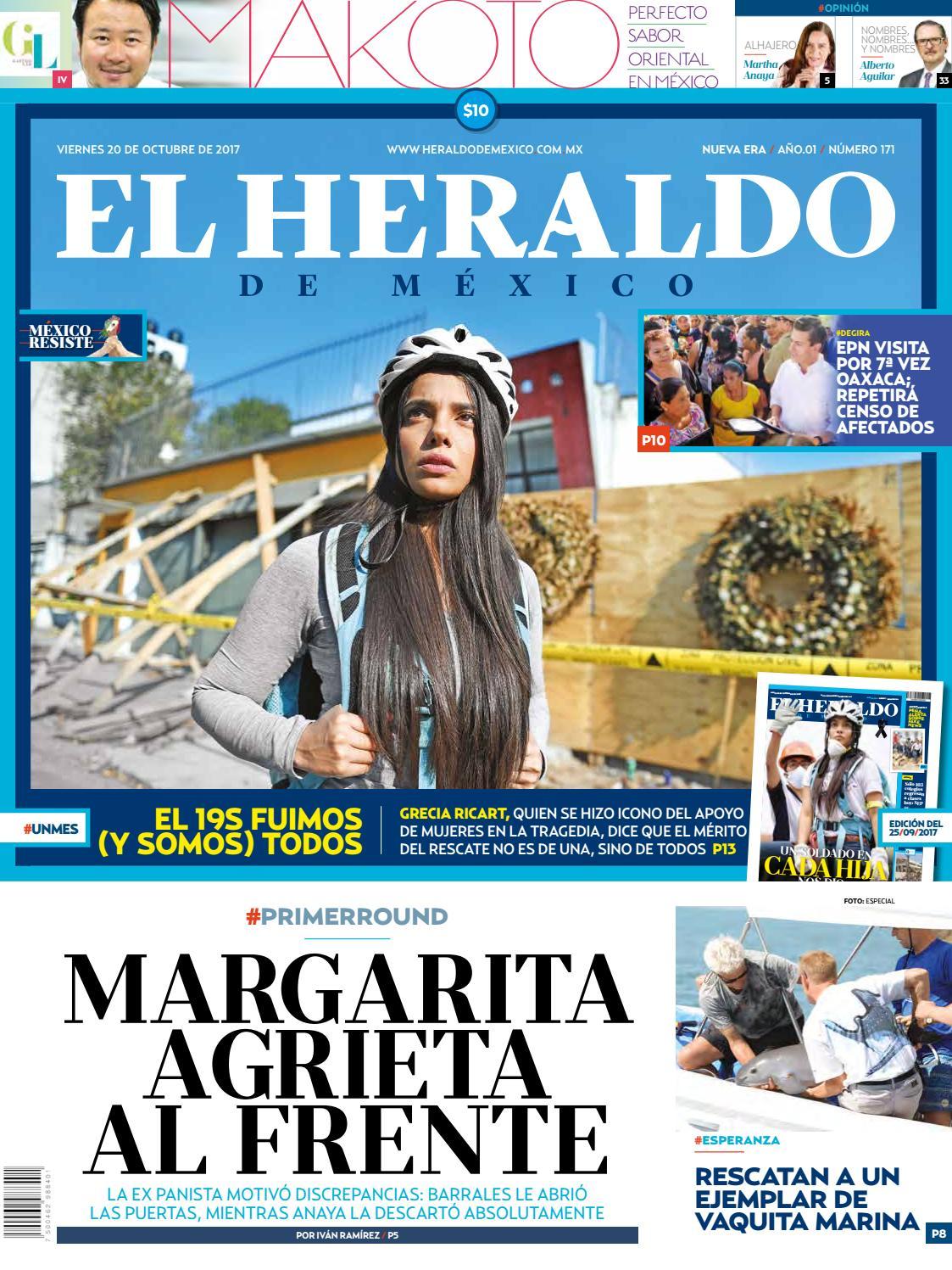 El Heraldo de México 20 de octubre del 2017 by El Heraldo de ...