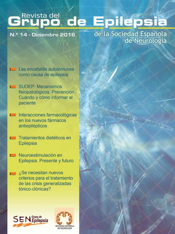 Revista Grupo de Epilepsia SEN, Nº 14 by Epilepsiasen Epilepsiasen ...