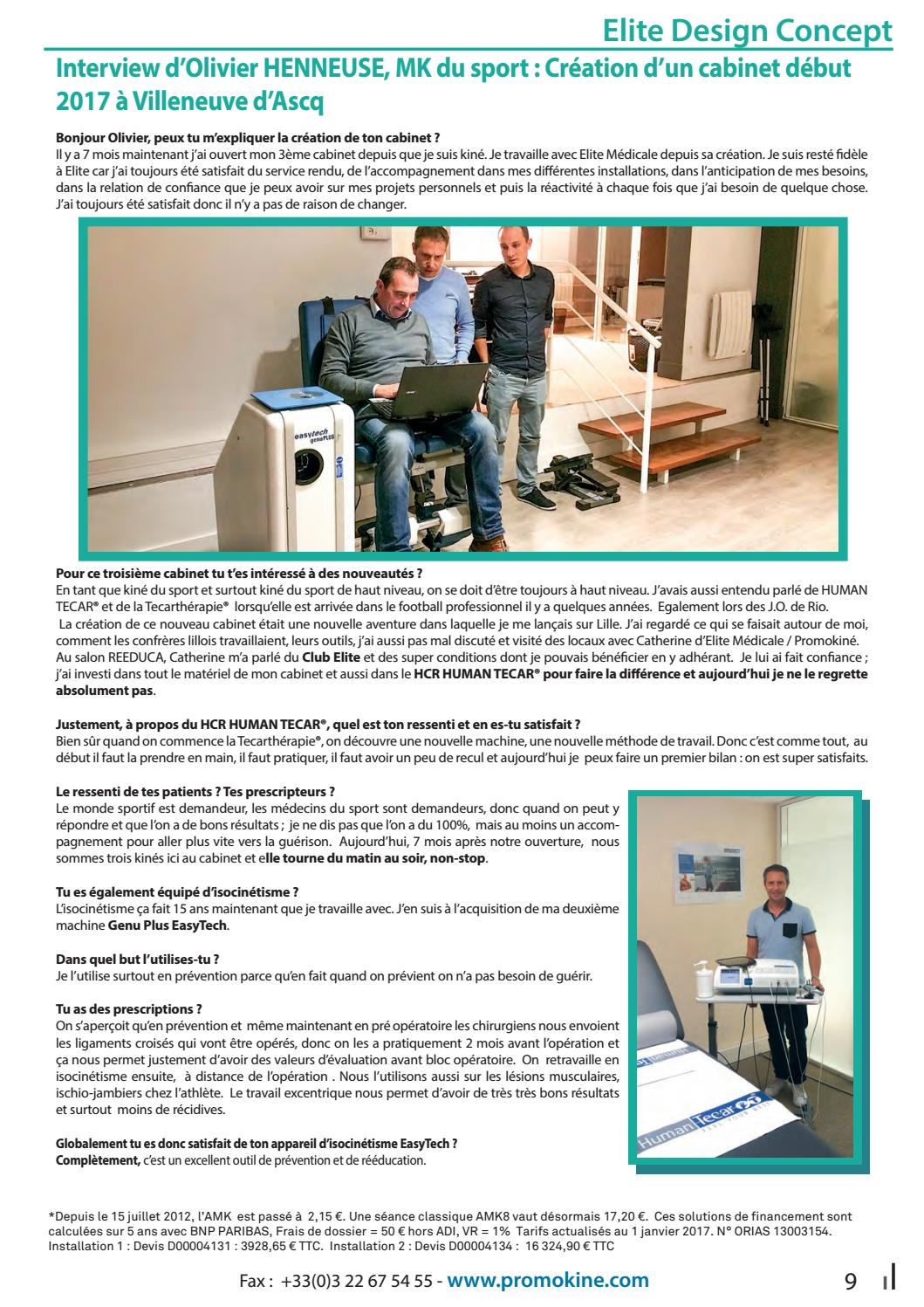 8c85672b267d Catalogue promokine 09 2017 by Elite Médicale - issuu