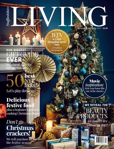 staffordshire living christmas november december 2017