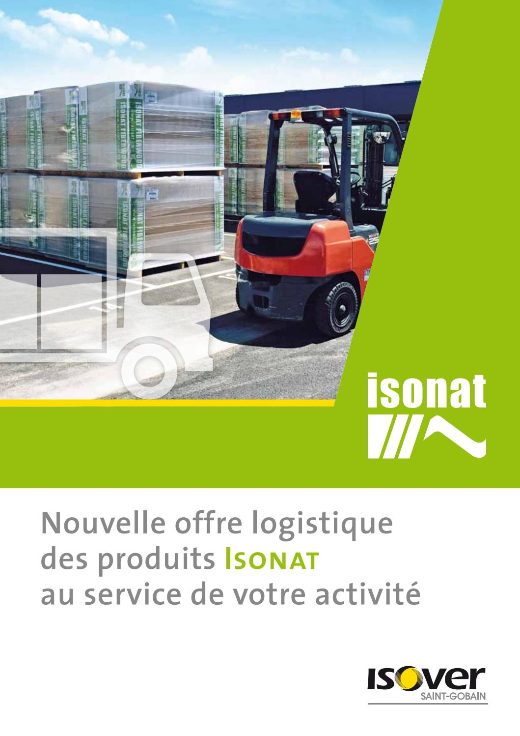 offre logistique isonat et isover by isonat issuu. Black Bedroom Furniture Sets. Home Design Ideas