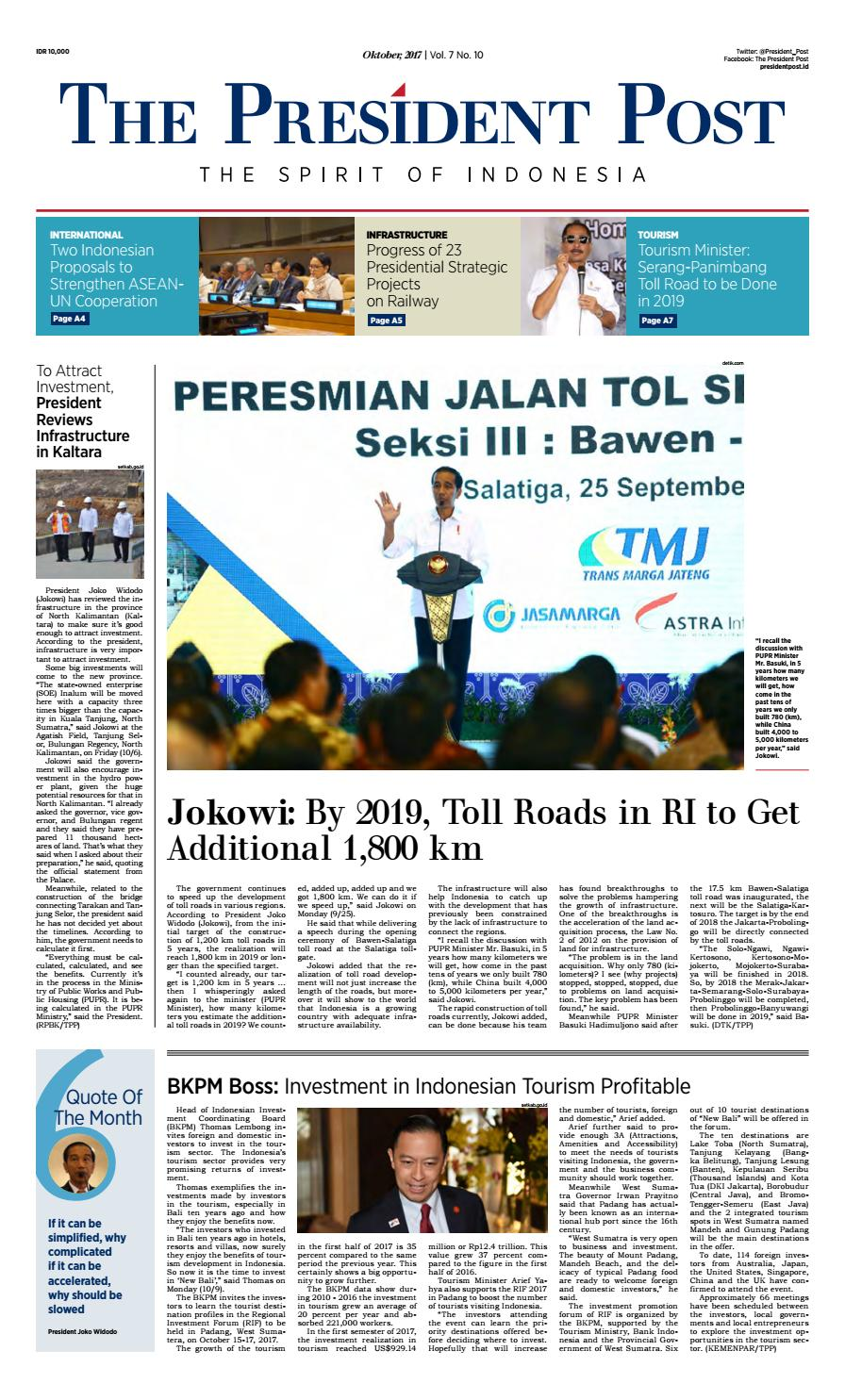 The President Post English Edition Oktober 2017 By Ksp Kav 3 User Issuu