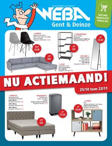 Nu actiemaand bij WEBA! by WEBA Meubelen - issuu