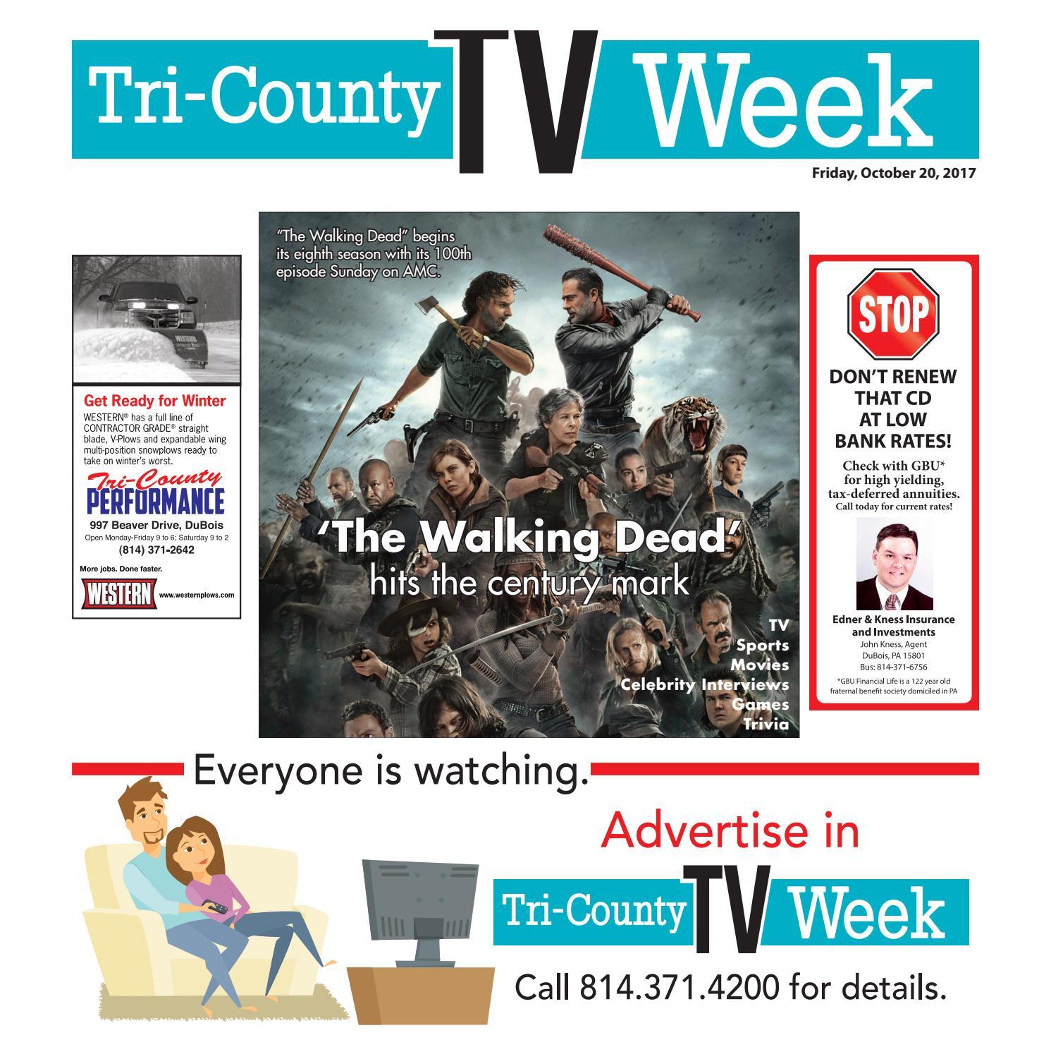 TV Week 10/20/2017 by Tri-County TV Week - issuu