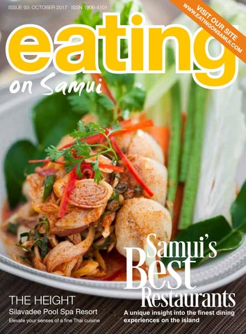 Eating on Samui - October 2017