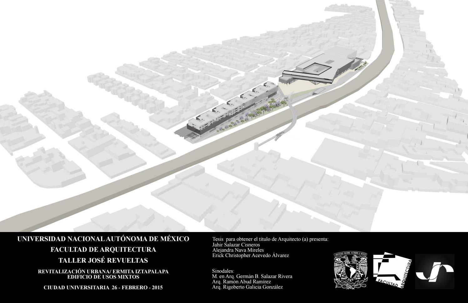 Revitalización Urbana Ermita Iztapalapa By Alejandra Nava