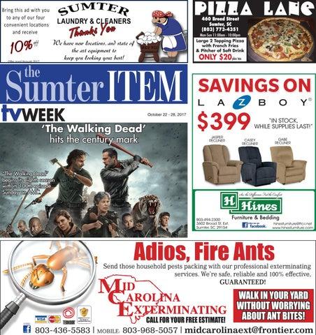 Tvweek 10 22 17 by The Sumter Item - issuu