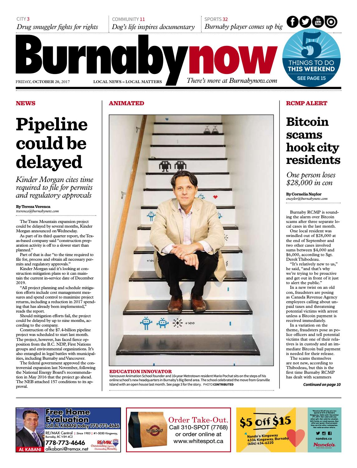 Burnaby Now October 20 2017 by Burnaby Now - issuu