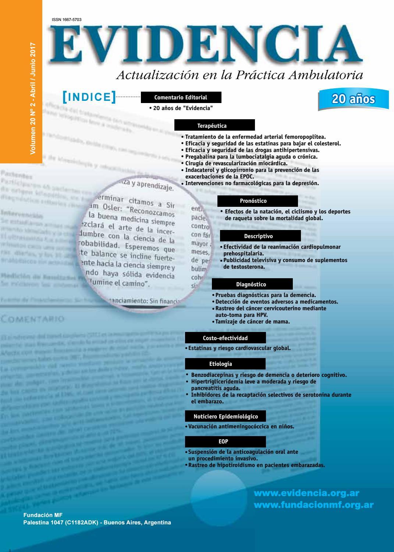Revista evidencia volumen 20 n 2 by evidencia actualizacin en la revista evidencia volumen 20 n 2 by evidencia actualizacin en la prctica ambulatoria issuu fandeluxe Images