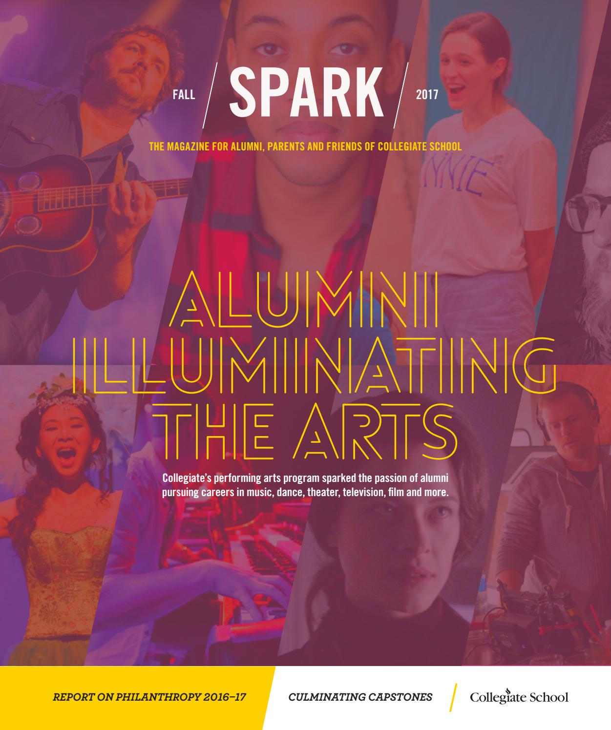 9a17810c5a32 Spark Fall 2017 by Collegiate School - issuu