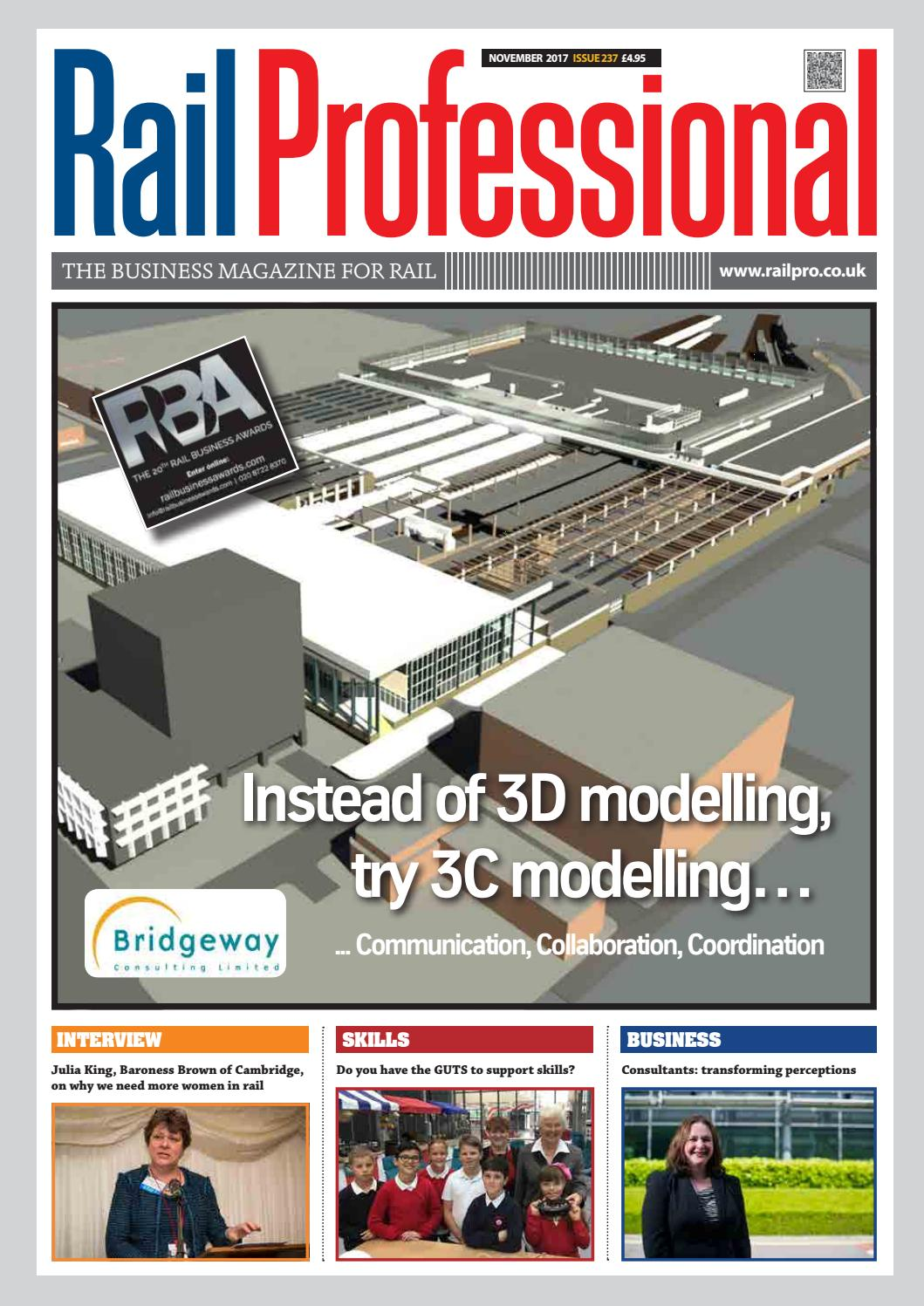Rail Professional November 2017 By Magazine Issuu 12v Circuit Isolating It From The Rest Of House39s 240v System