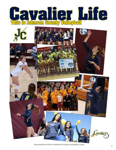 2017 jccc volleyball guide by Chris Gray - issuu