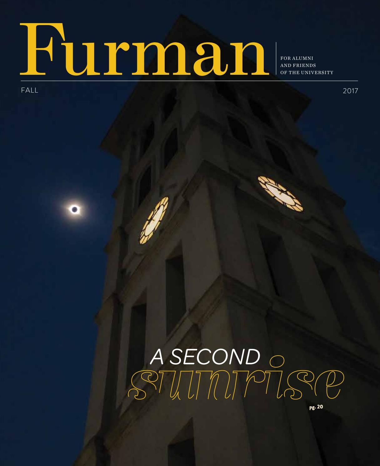 Furman Magazine Fall 2017 By University Issuu Hobby Diy Projects And Circuits Delabs
