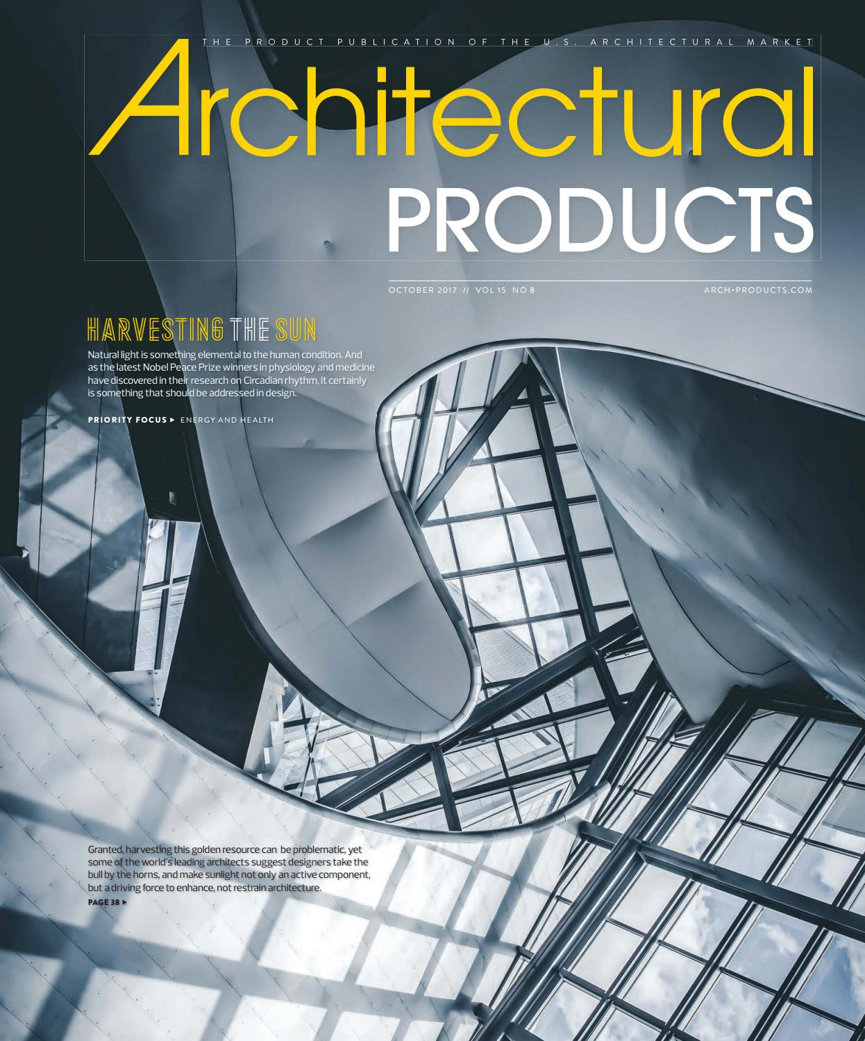 Architectural Products - October 2017 by Construction Business Media ...