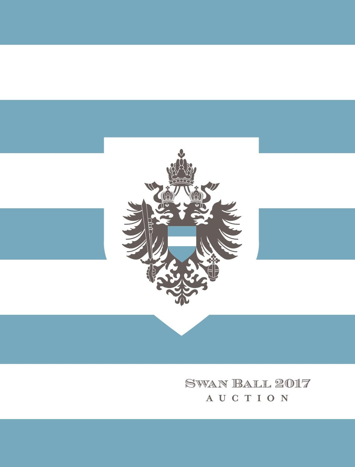 Swan Ball 2017 Brochure by Swan Ball - issuu