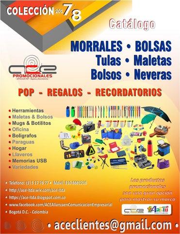 4c6c03d54 ACE Ltda. • Catálogo MORRALES, BOLSAS - 2018 by ACE Ltda - issuu