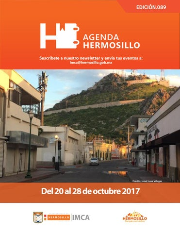 "Cover of ""Agenda Hermosillo 20 oct 2017"""