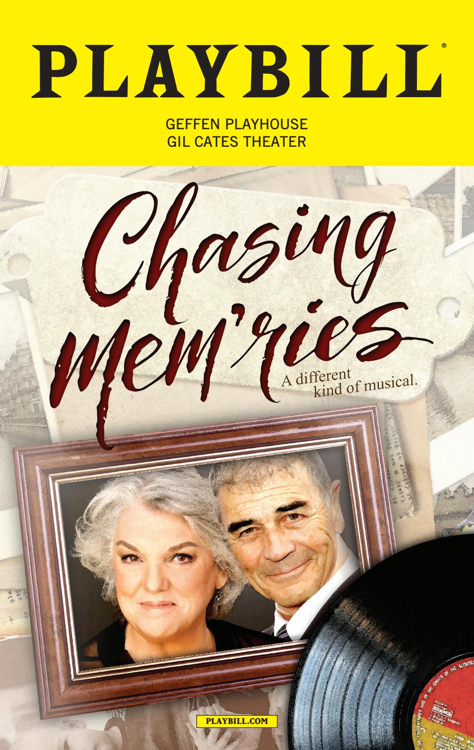 Chasing Mem'ries Program by Geffen Playhouse - issuu