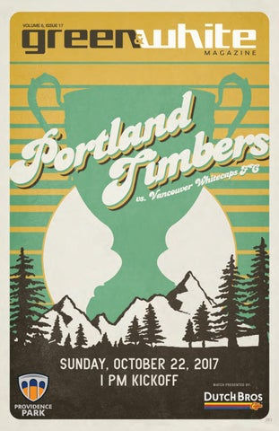 separation shoes b5ded 9a793 Green   White Magazine   Portland Timbers vs. Vancouver Whitecaps FC    October 22, ...
