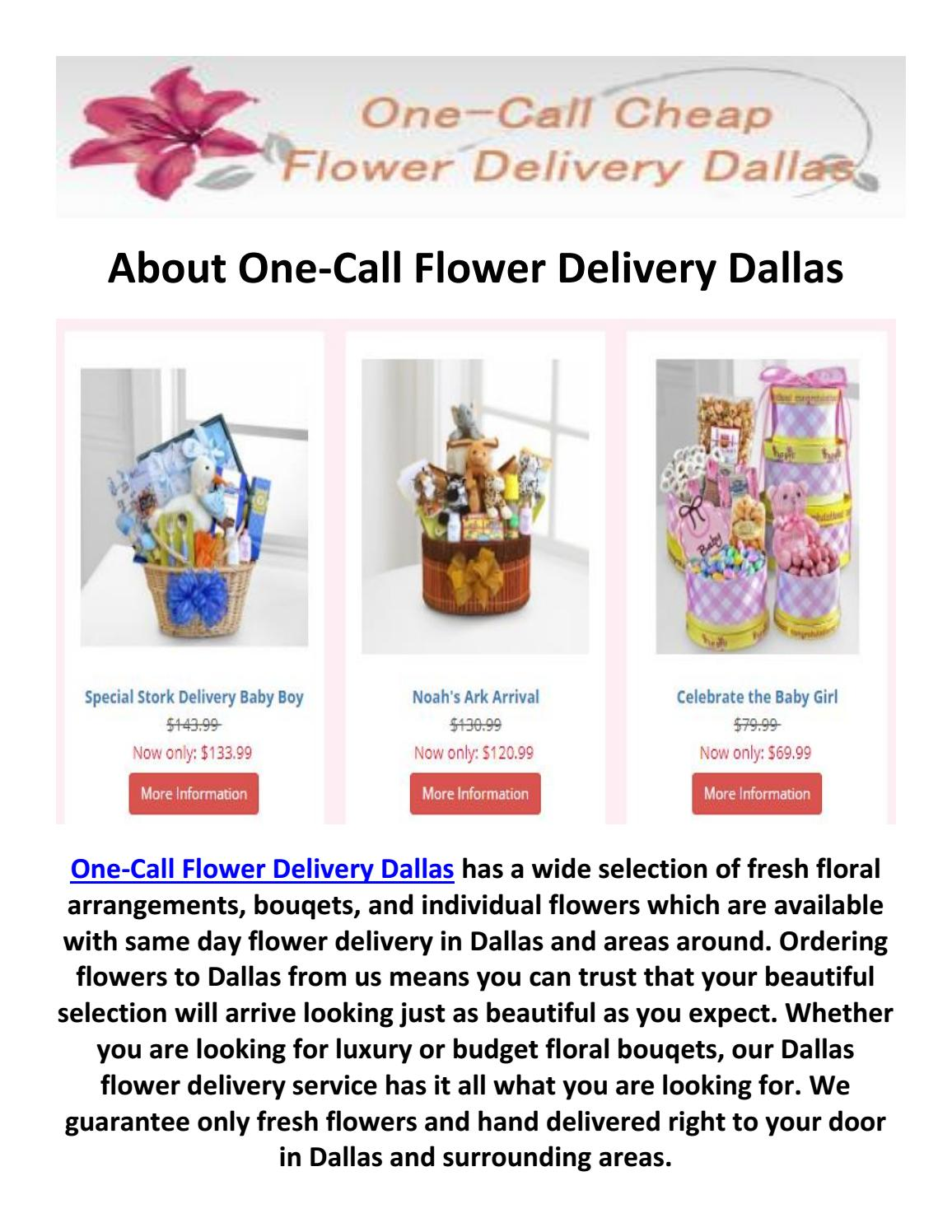 One Call Flower Delivery Dallas 469 518 5559 By One Call Flower