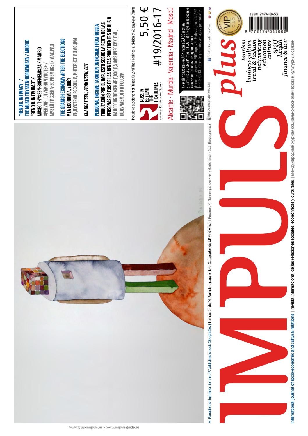 df5cabbbf45 Revista Impuls PLUS n.19 - ver. online by Grupo IMPULS - issuu