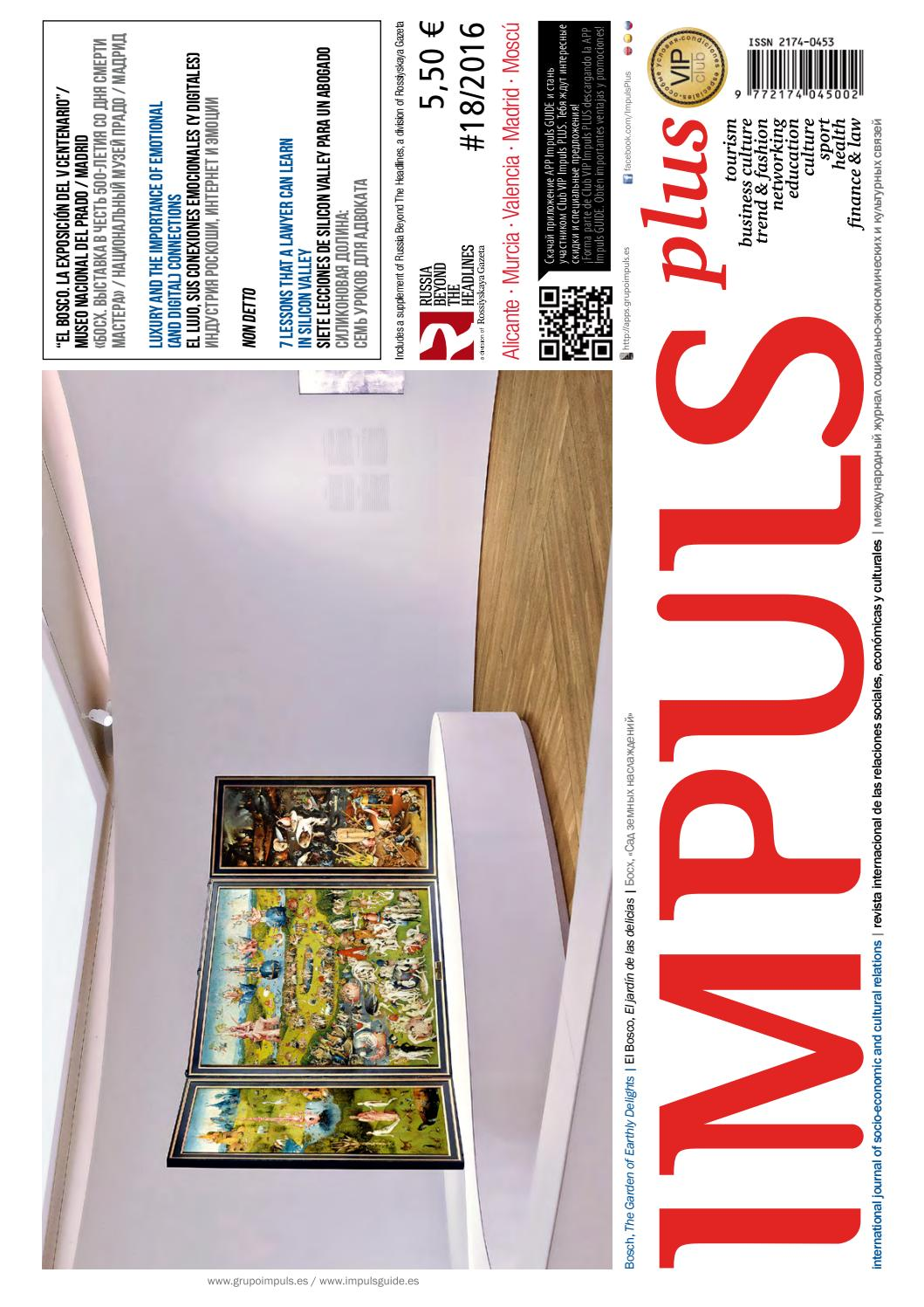 Revista Internacional Impus PLUS N.18 by Grupo IMPULS - issuu 14e23b22c2a