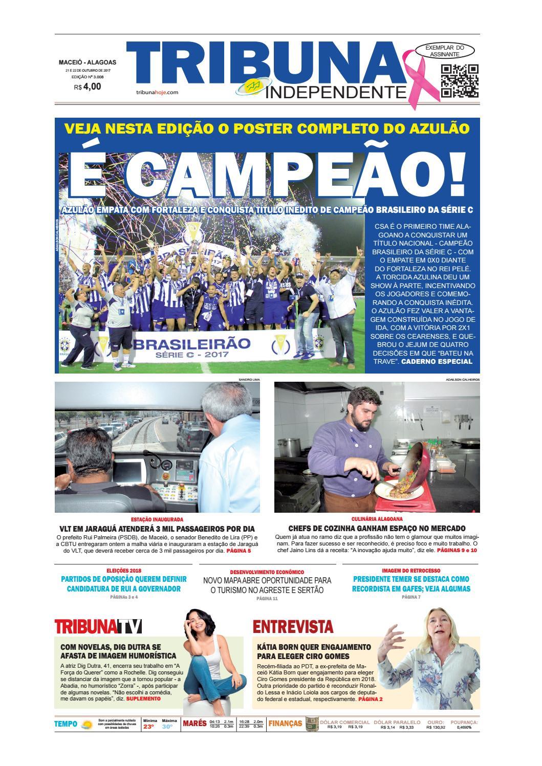 99c1da28ff143 Edição número 3008 - 21 e 22 de outubro de 2017 by Tribuna Hoje - issuu