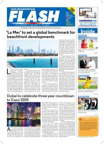 Flash new dubai 37th edition by Travel Web - issuu