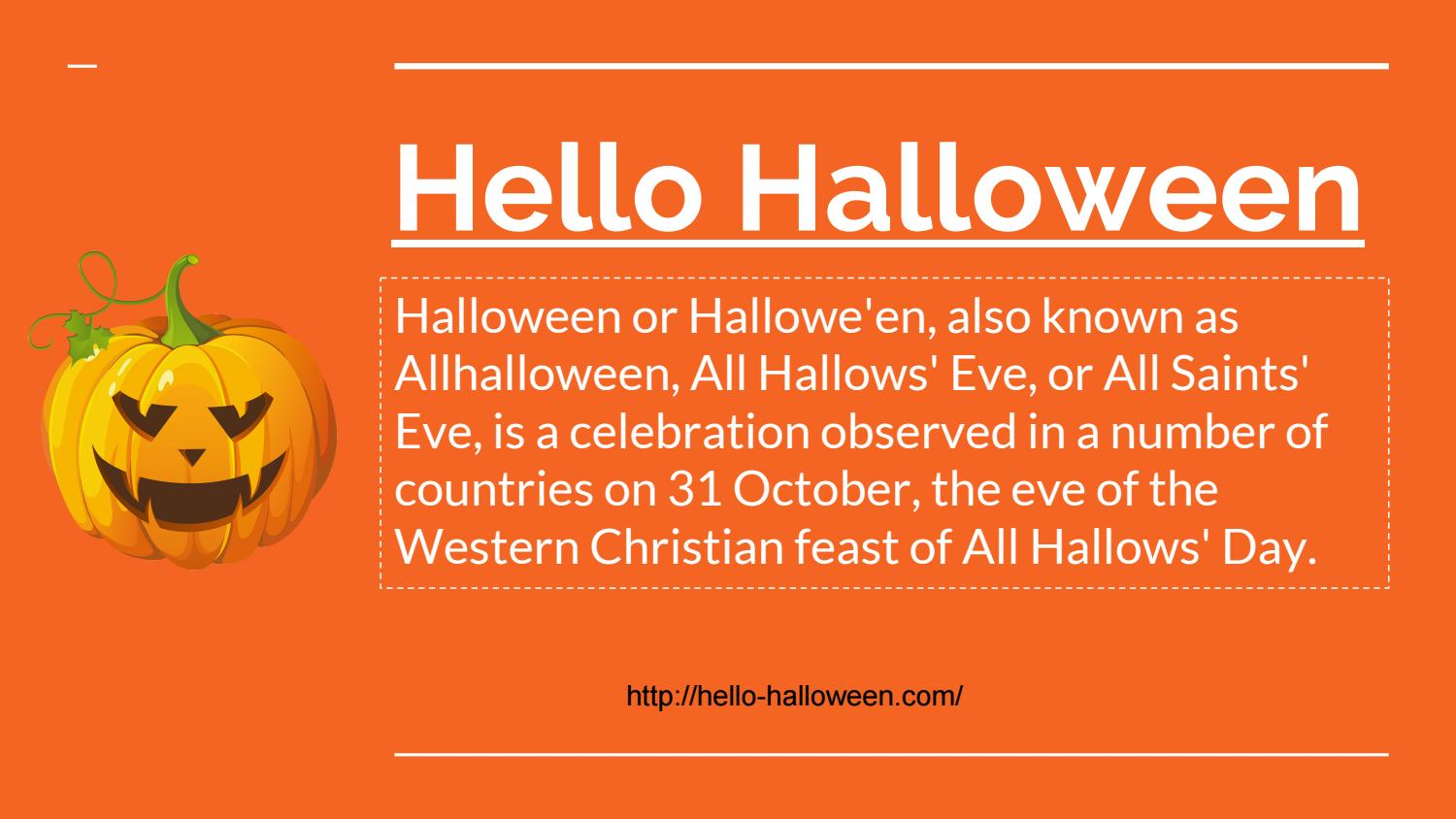 Halloween 2017 Costumes, Makeup and Decoration Ideas by Hello ...