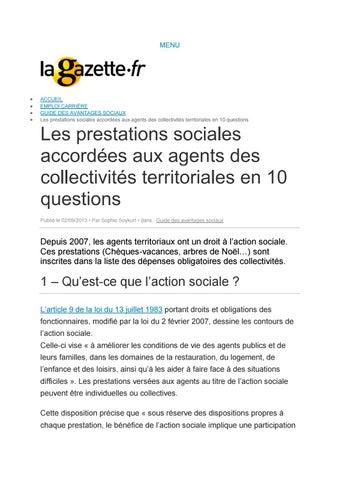 245915c5391 Prestations action sociale fonction publique territoriale la gazette ...
