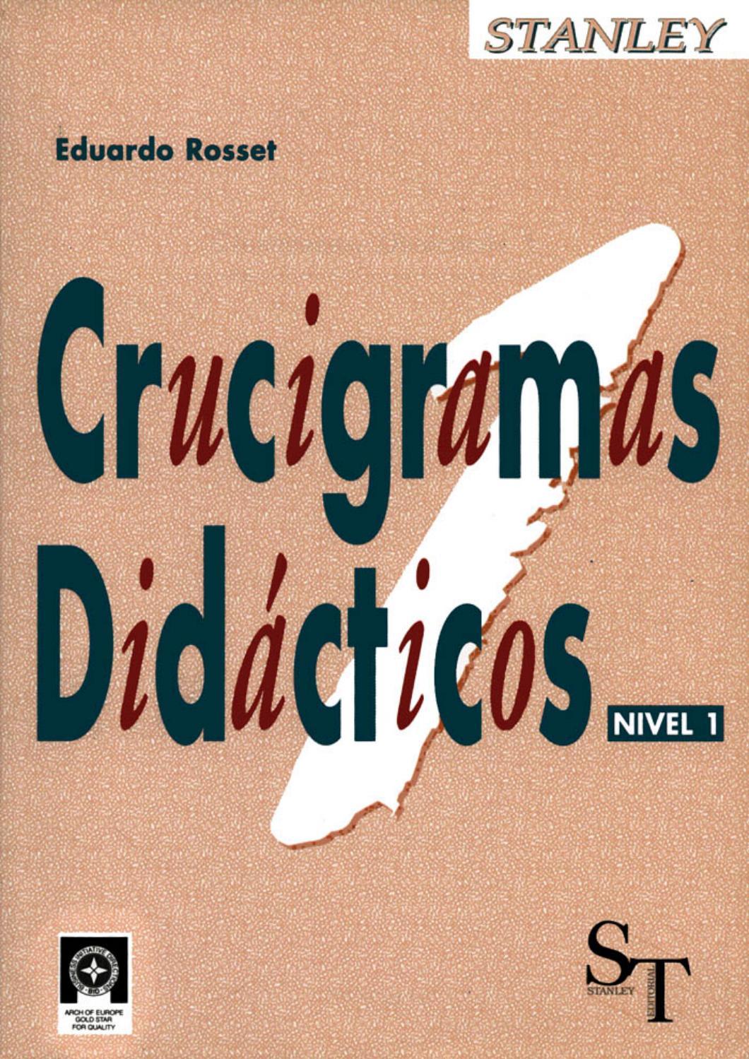 A2 crucigramas didácticos 1 (43 pag)x by Ana Maria Porto Lopez - issuu